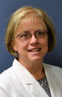 Robin Herb, ANP-BC, of Berks Schuylkill Respiratory Specialists